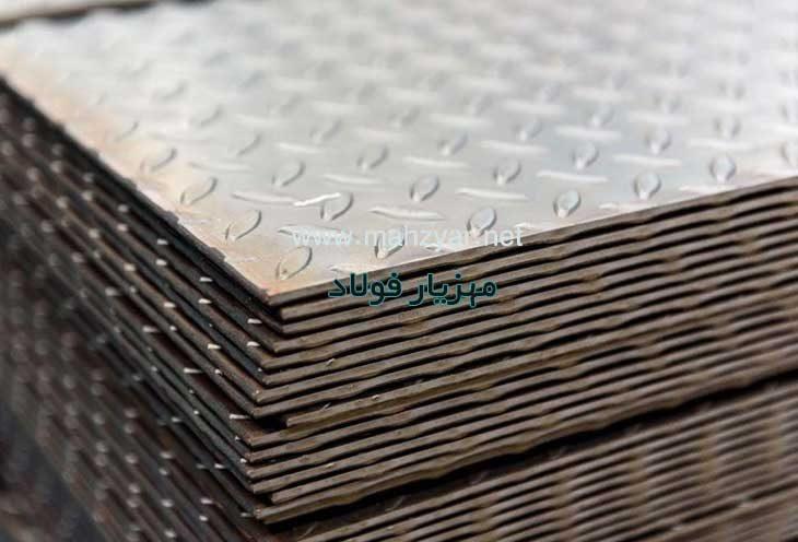 بازرگانی مهزیار فولاد خریدار و فروشنده کلیه ورقهای آجدار سیاه، روسی، مبارکه، کره ای در ابعاد مختلف