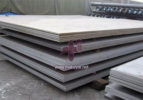 ورق های فولادی ملایم ASTM A285