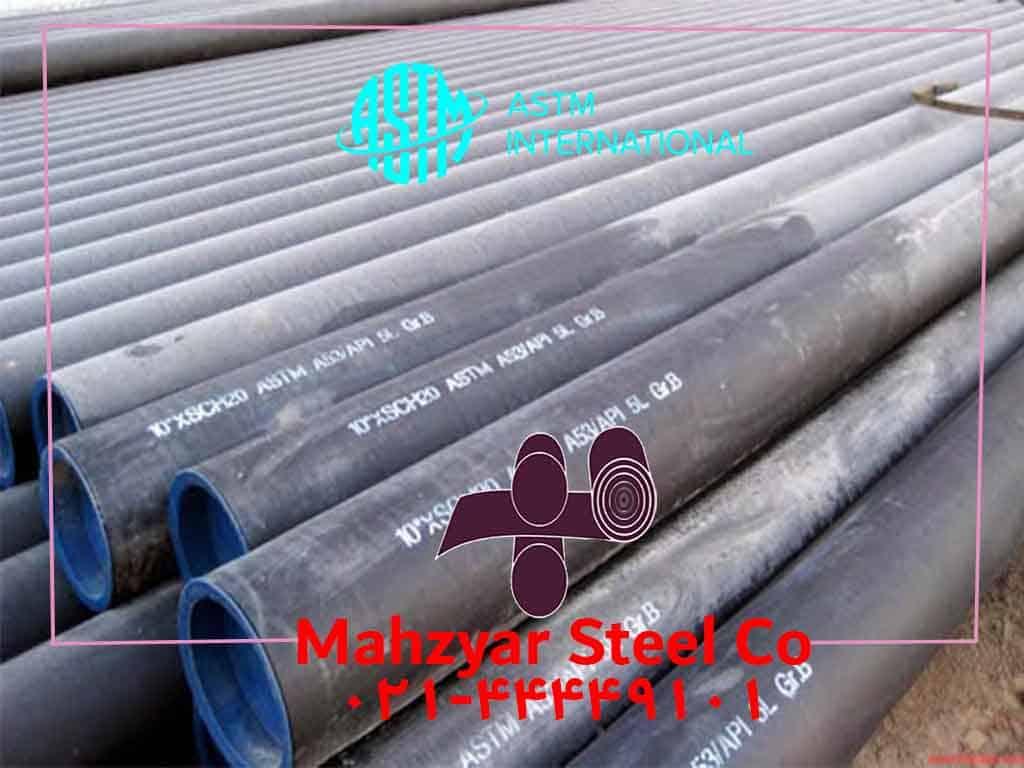 لوله های مانیسمان بدون درز ASTM A53
