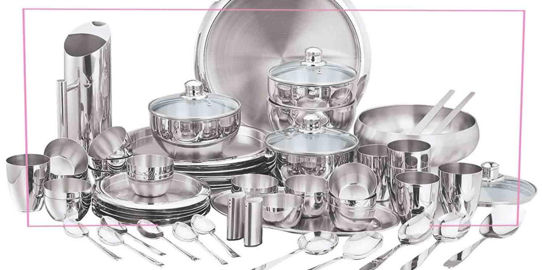 کاربرد استیل در ظروف آشپزخانه