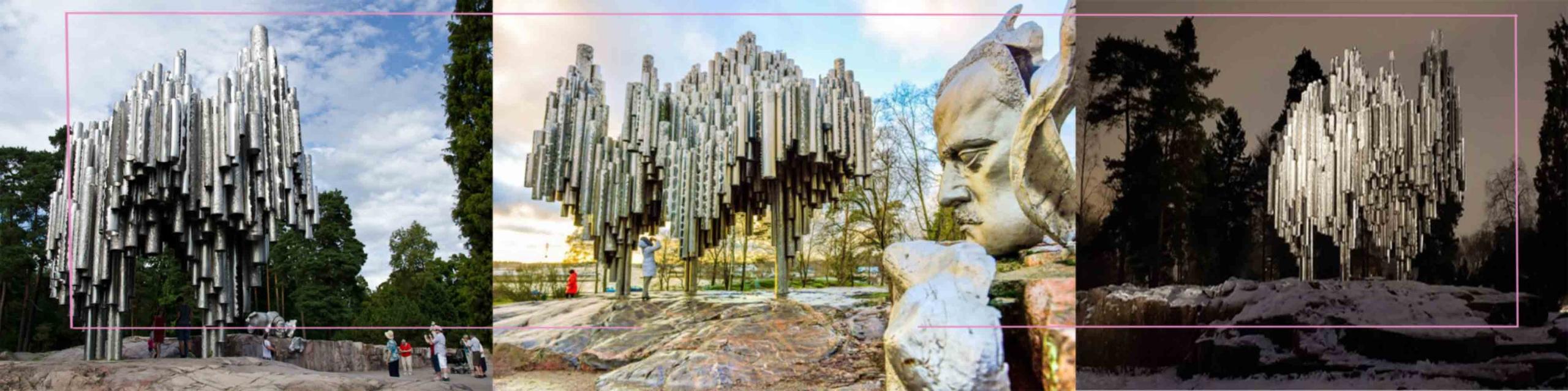 مجسمه-سیبلس-در-فنلاند