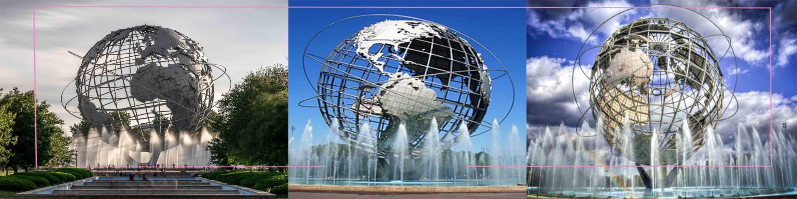 مجسمه کره جهان نما در نیویورک