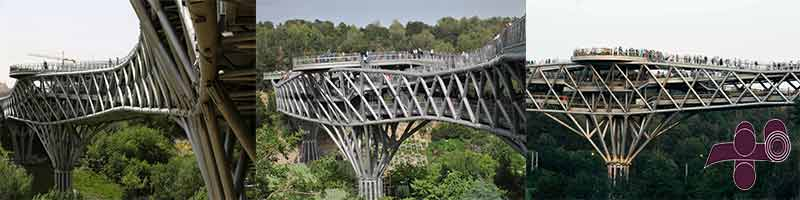کاربرد لوله های سایز بالا در ساخت پل
